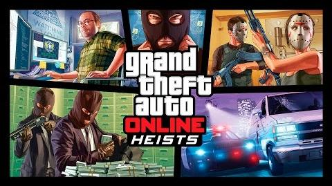 Grand Theft Auto Online Tráiler Los Golpes
