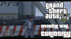 Grand Theft Auto V - Invisible Wall Curiosity (Confirmed in-Grand Theft Auto V - Invisible Wall Curiosity