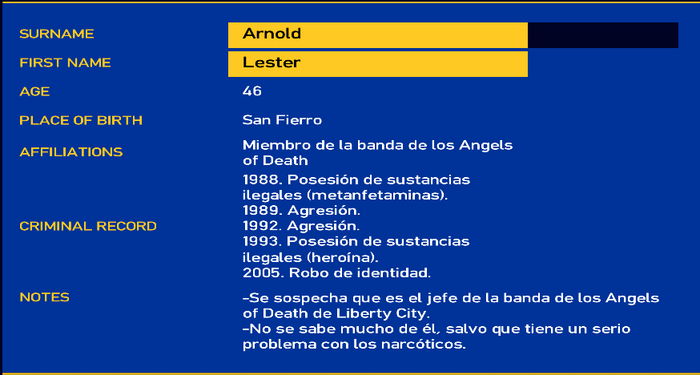 Arnold lester LCPD
