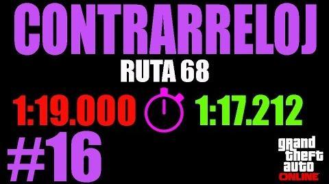 CONTRARRELOJ RUTA 68 TOMAS FALSAS (GTA ONLINE) PS4