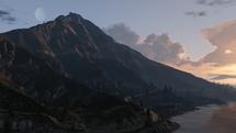 Monte Chiliad Amanecer