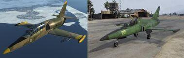 Comparacion Besra y L-39