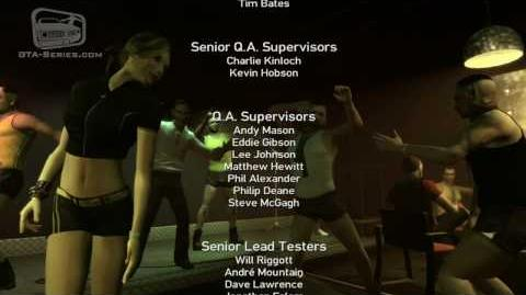 GTA The Ballad of Gay Tony Closing Credits