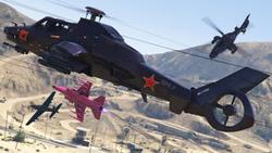 GTA Online Cuota aérea VII