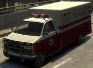Ambulancia GTA IV