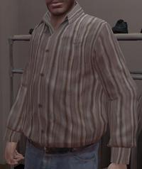 Camisa rayas GTA IV
