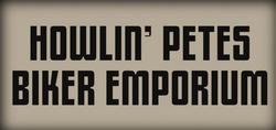 Howlin' Petes Biker Emporium logo