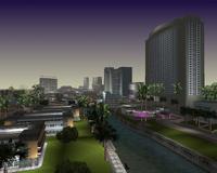 Panoramica de Vice Point en GTA VC
