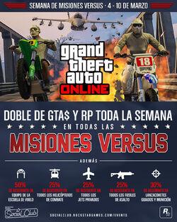 GTA Online - Semana de Misiones Versus