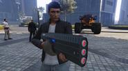 Vengadora Infernal GTA Online