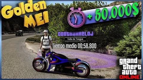 Contrarreloj Valle de Tongva GTA V Online