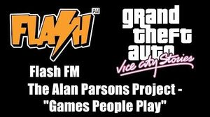 """GTA Vice City Stories - Flash FM The Alan Parsons Project - """"Games People Play"""""""