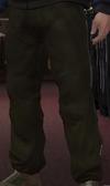 Pantalones chándal verde oliva negro GTA IV
