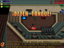 ¡Detén Tanque!