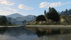 Lago Zancudo Afluente