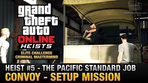 Golpe al Pacific Standard - Convoy