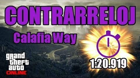 CONTRARRELOJ - CALAFIA WAY (GTA ONLINE) PS4