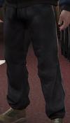 Pantalones chándal blanco negro GTA IV