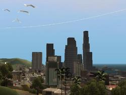 Vista panoramica de Los Santos