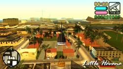 Vista panoramica de Lttle Havana en VCS
