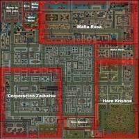 Mapa Gang Industrial GTA 2