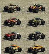 RC Bandito pinturas atrás GTA Online