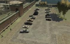 Penitenciaría Alderney Playa de estacionamiento externa
