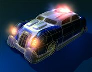Cop Car GTA 2 Artwork