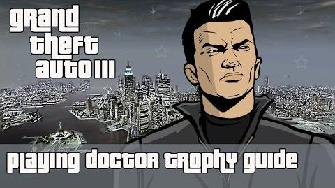 Grand Theft Auto III (PS4) - Playing Doctor Trophy Guide (Ambulance level 12)