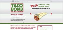 TacoBomb- Sitio Web