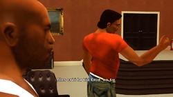 Un soplón del copón - Lance corrigiendo a su madre