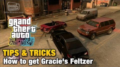 GTA The Ballad of Gay Tony - Tips & Tricks - How to get Gracie's Feltzer-0