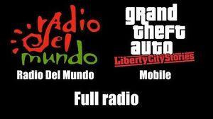GTA Liberty City Stories - Radio Del Mundo Mobile Full radio