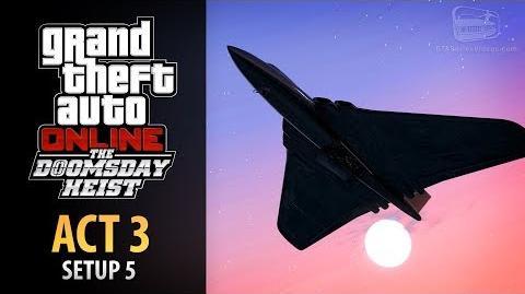GTA Online Doomsday Heist Act 3 - Setup Air Defenses (Elite & Mastermind II)