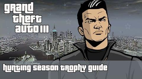 Grand Theft Auto III (PS4) - Hunting Season Trophy Guide
