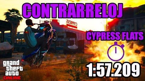 CONTRARRELOJ - CYPRESS FLATS (GTA ONLINE) PS4