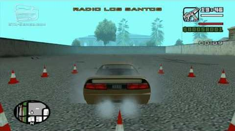 GTA San Andreas - Walkthrough - Driving School 1 - The 360 (HD)