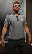 Camisa polo de metal-GTAO