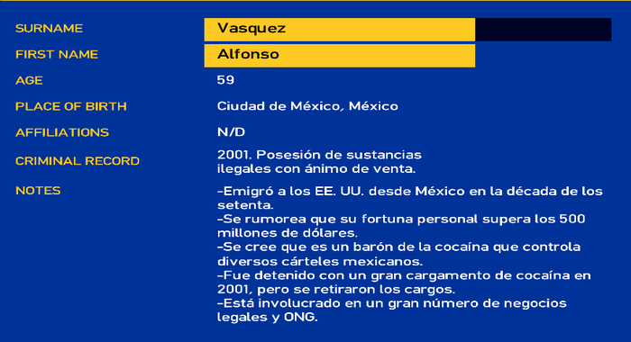 Alfonso vasquez