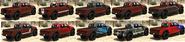Caracara 4x4 GTAO Cubiertas Atrás
