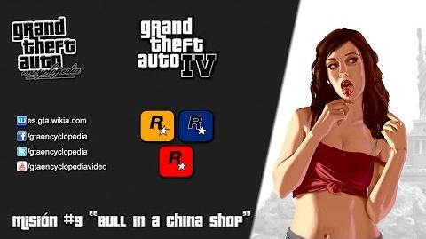 GTA IV Mission 8 Bull in a China Shop