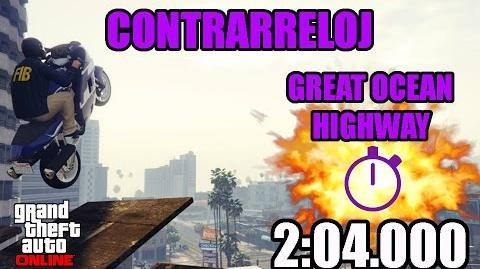 CONTRARRELOJ - AUTOPISTA DE GREAT OCEAN (GTA ONLINE) PS4