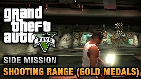 GTA 5 - Galería de tiro (medallas de oro)