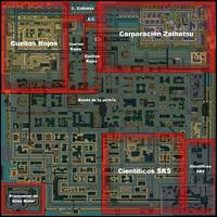 Mapa Gang GTA 2 descrito