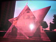 Otra vista de la estrella trasparente