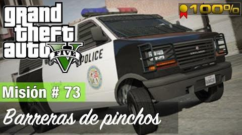"Grand Theft Auto V - ""Barreras de pinchos"""