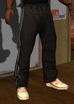 Pantalon gimnasia negro