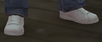 Zapatillas tenis blancas GTA IV