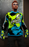 Jersey motocross de competición radical Jackal Racing