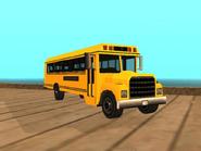 Restauracion del bus escolar en GTA SA